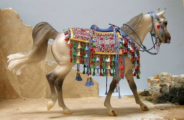 Traditional Style Embroidered Arabian Costume