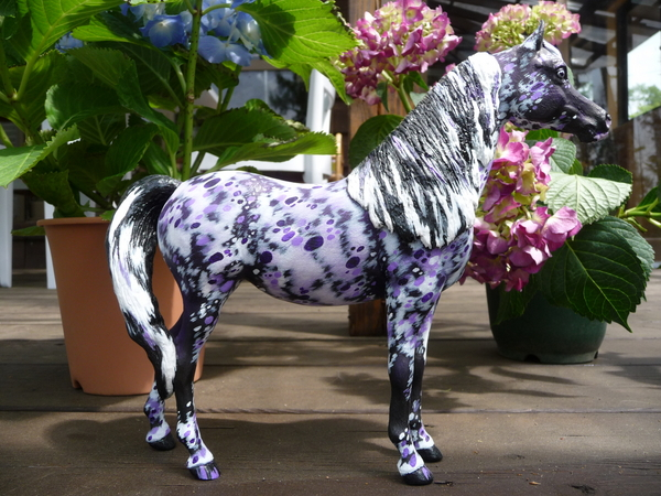 Wild Appaloosa Decorator Mare