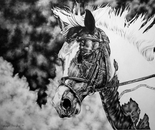 Graphite Drawing by Bridgett