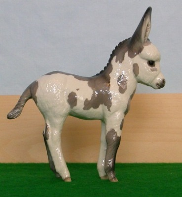 Small Standard Spotted Donkey Filly