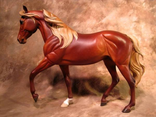 RMH Mare - Silver Dapple Bay (Red Chocolate)
