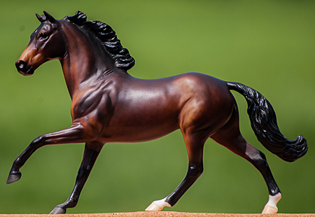 "Champion Breyer - Grade Pony - gelding - ""I'm Your Huckleberry"""