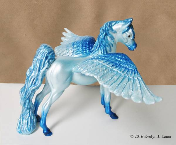 Ice Blue Pegasus