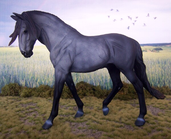 Arrkadium Maximus - Dapple Grey, Lusitano, Stallion, OF CollectA